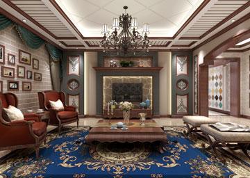 美式客厅2
