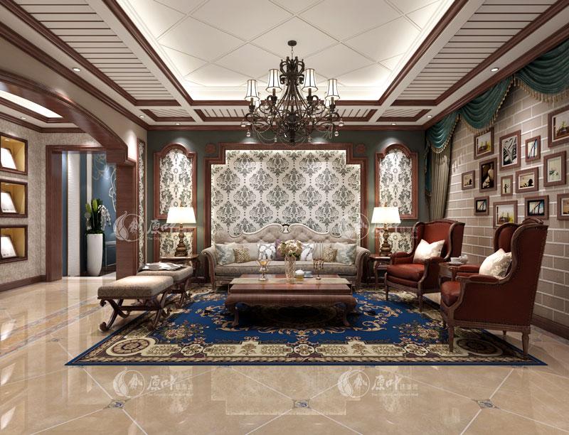 美式客厅3
