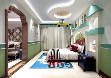 绿色儿童房1