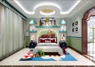 绿色儿童房2