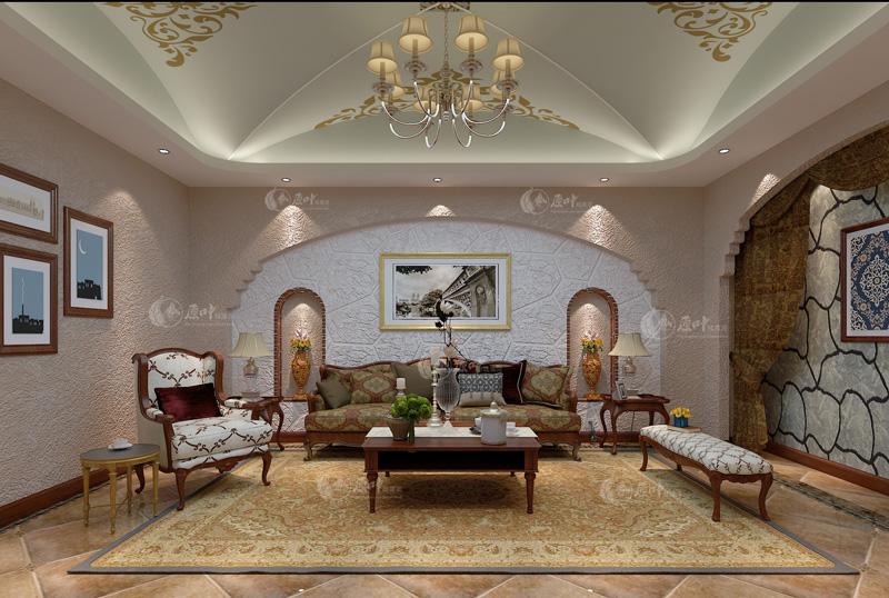 美式客厅4