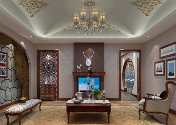 美式客厅5