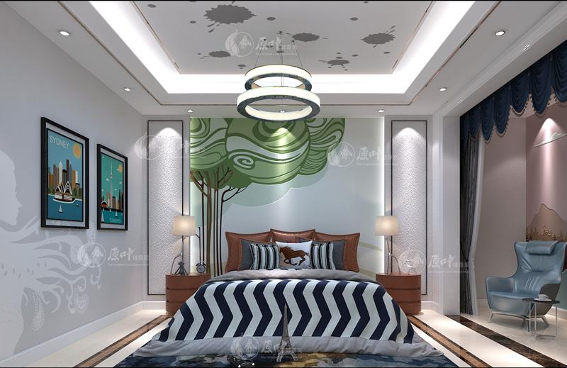 现代卧室3