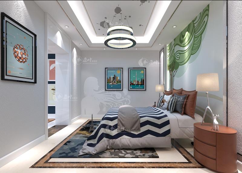 现代卧室4