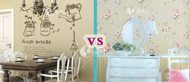 硅藻泥和壁纸的区别是什么